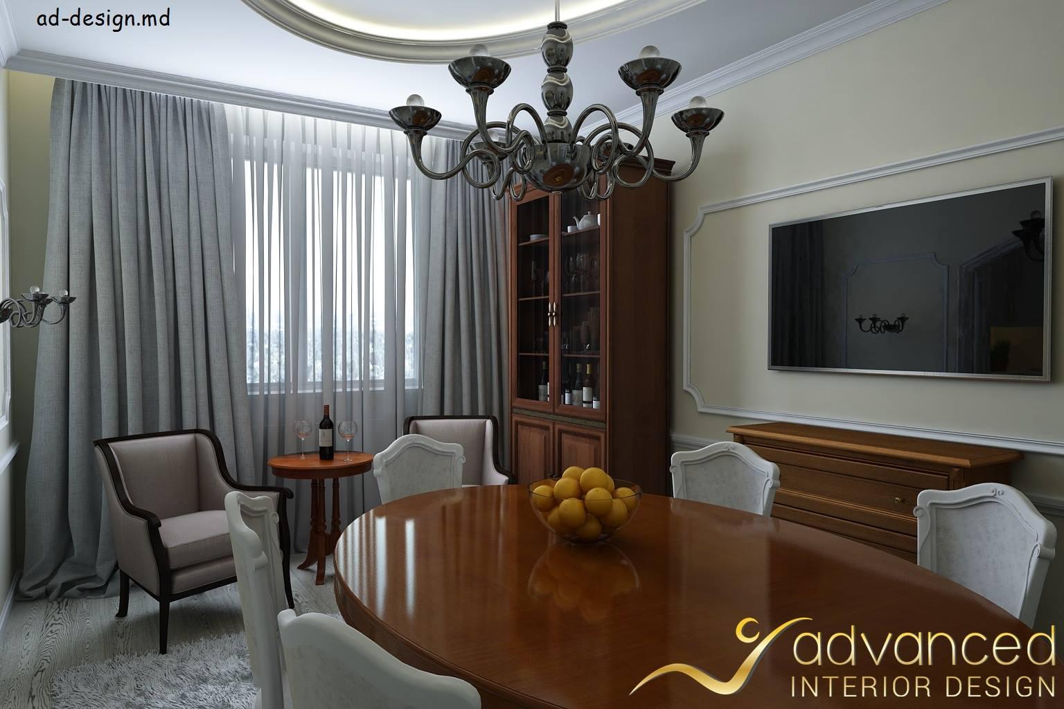 ADVANCED interior design landing page